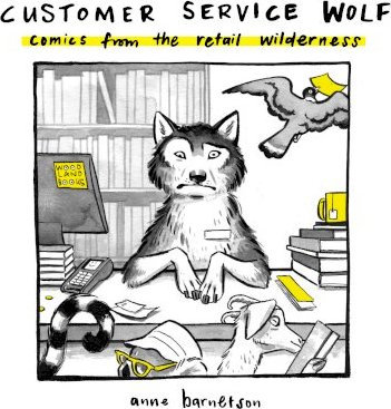 Customer Service Wolf comics from the retail wilderness