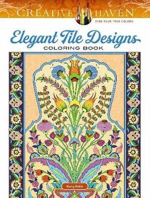 Elegant Tile Designs Coloring Book