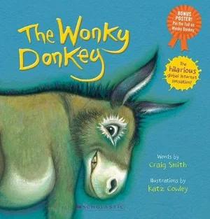 The Wonky Donkey Pin the Tail on the Wonky Donkey
