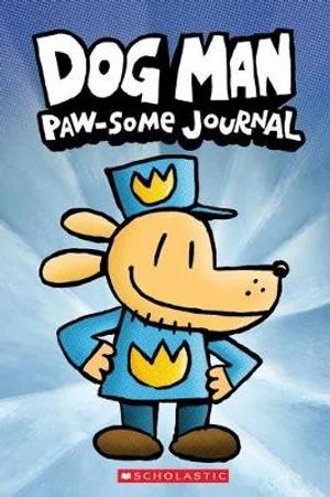 Dog Man Paw-Some Journal