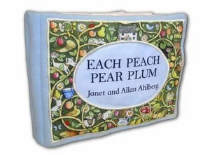 Each Peach Pear Plum: Cloth Bk