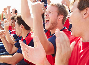 Fans in Sportveranstaltung