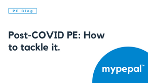 Post-COVID PE: How to tackle it.