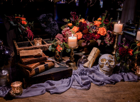 Design :: A Halloween Inspired Holiday