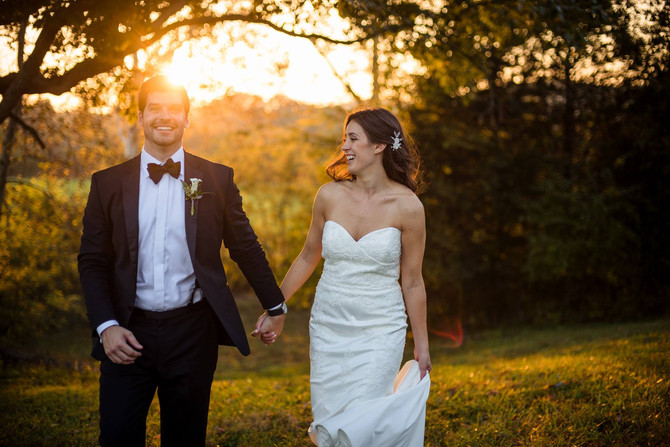 October Wedding Features from Greg + Jess Photography ::