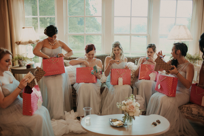 Details :: Pretty + Polished Bridesmaid Gifts