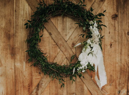 Design :: Whimsy + Welcoming Ceremony Wreaths