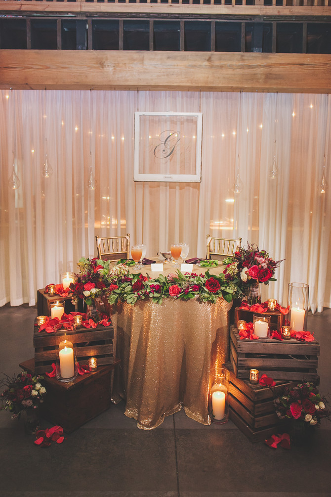 Design :: Mixing the Magic of the Holiday's Into Your Wedding Day