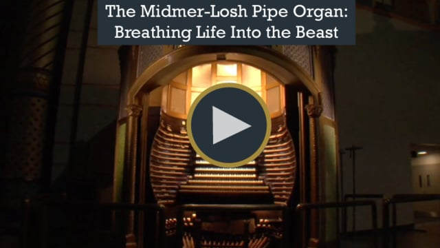 The restorations of the world's largest pipe organ in Atlantic City, New Jersey.