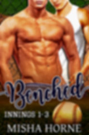 Benched Misha Horne gay baseball romance