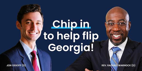 Chip in to help flip Georgia