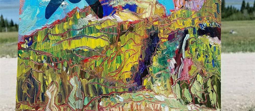 Mountain Study, 2017