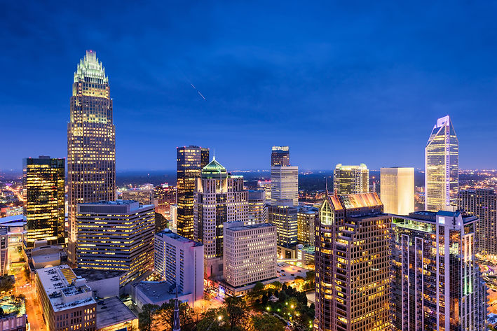 Charlotte, NC downtown skyline