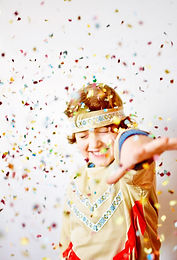 Boy in Costume Party