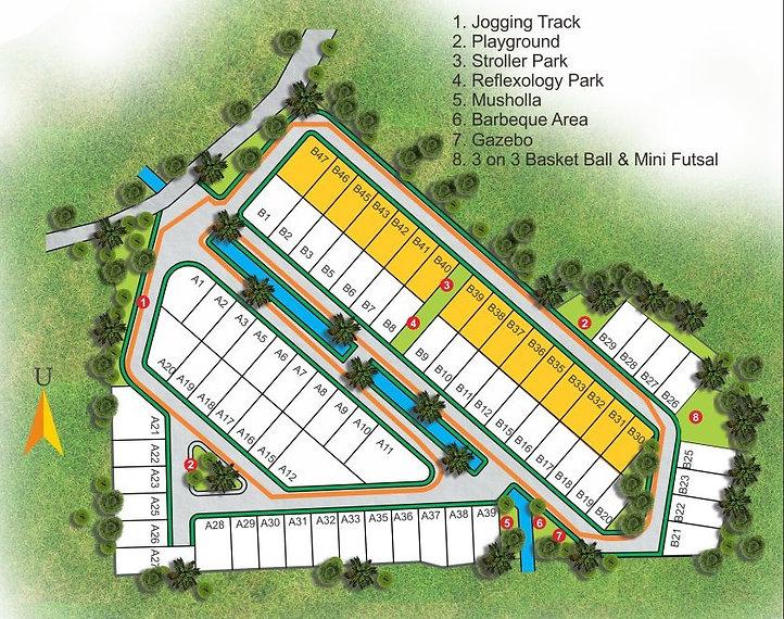 Siteplan Namara Residence