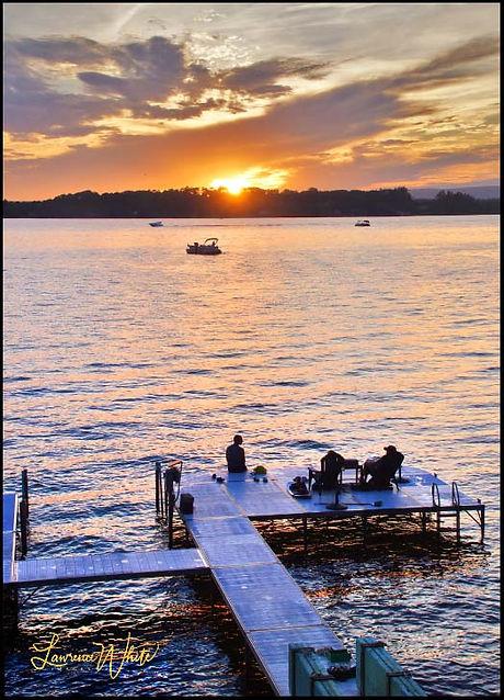 Summer2020_Sunset_LakeSaratoga_Dock©20L