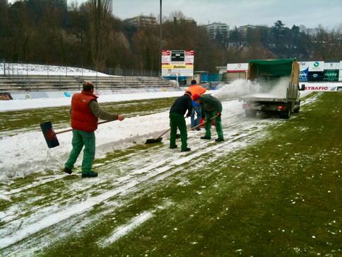 Évacuation de la neige   Pottu&Seitz SA