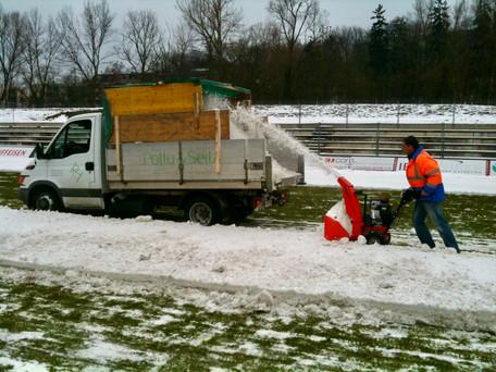 Fraisage et évacuation neige   Pottu&Seitz SA