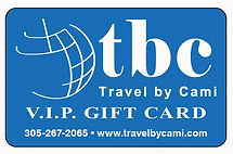 Travel Gift Card Vacation