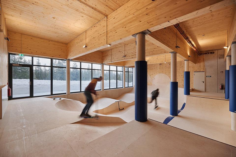 Architektin Christine Lechner / Lechner & Lechner / Jugendgästehaus Gerlosplatte / Hochkrimml