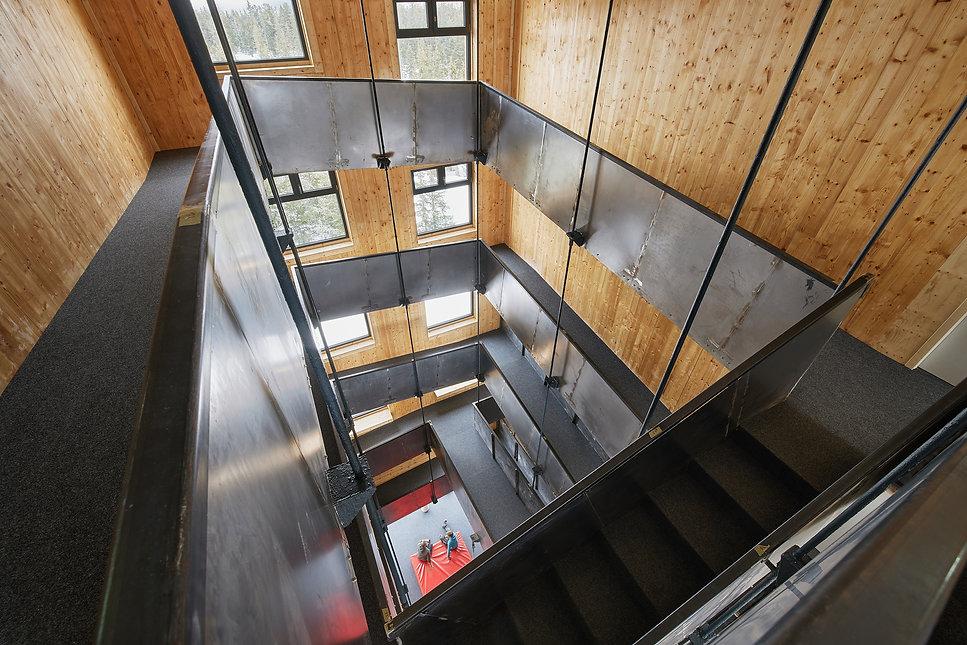 Architektinn Christine Lechner / Lechner & Lechner / Jugendgästehaus Gerlosplatte / Hochkrimml / Architektur in den Alpen