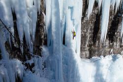 Ice Climbing, Alberta, Canada