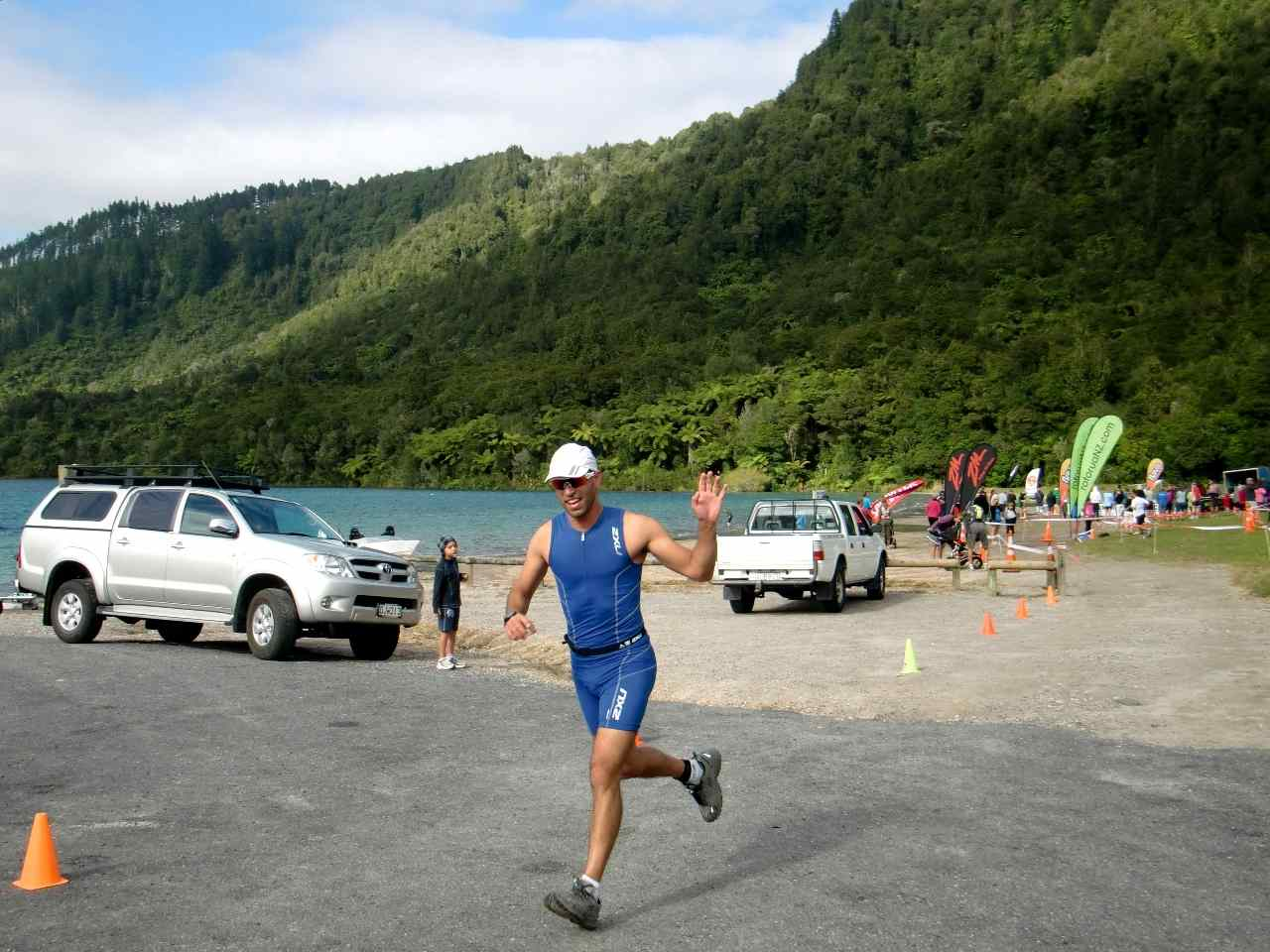 Blue Lake Triathlon, New Zealand