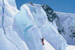 Ice Climbing, Tasman Galcier, NZ