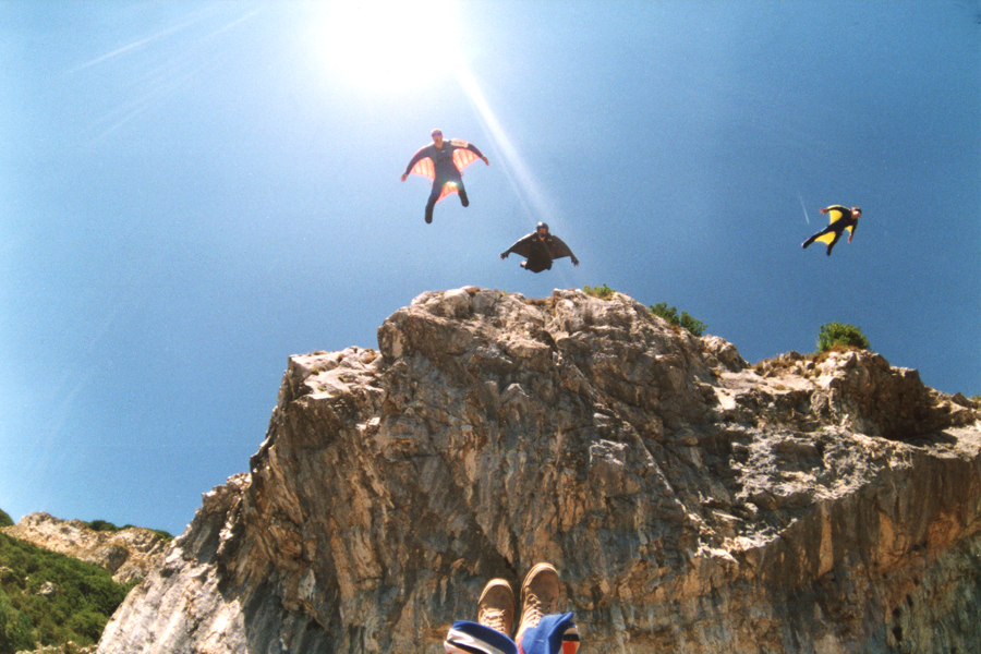 Wing Suit Flying in Arco, Italy