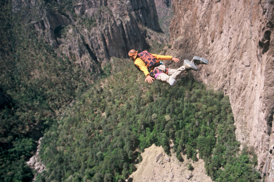 Base Jumping, Mexico