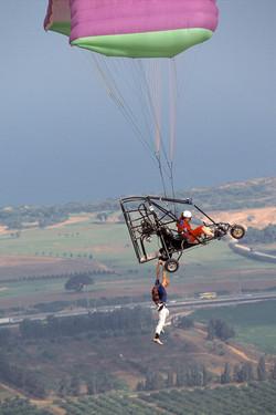 stunt jump, Israel