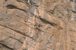 Rock Climbing, Phra Nang, Thailand