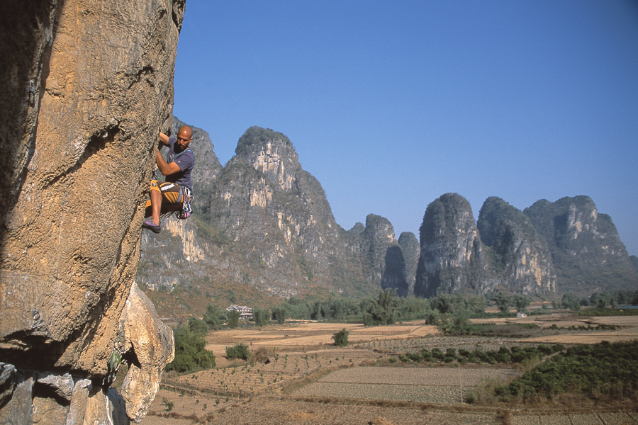 Rock Climbing Guilin, China