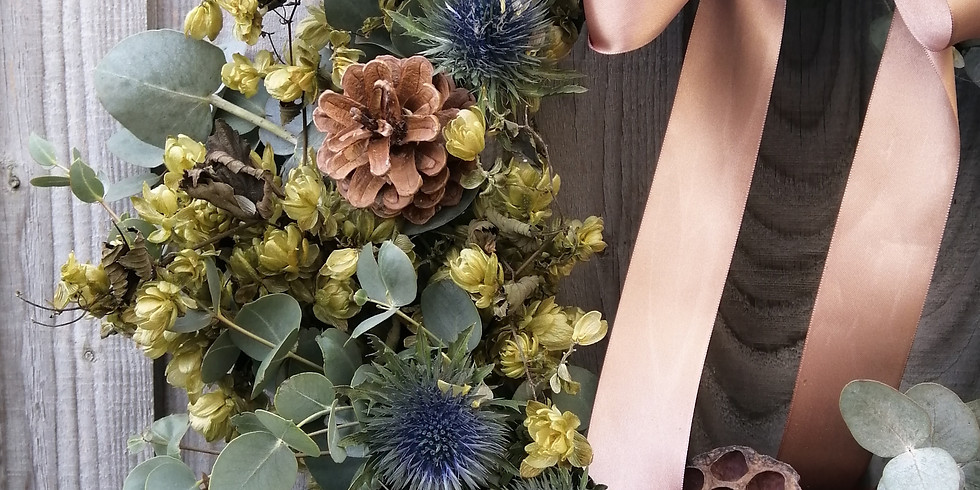 More than a Christmas Wreath Workshop with Jana Teteris