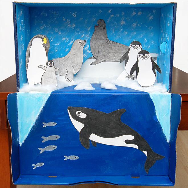 Polar Habitat Diorama