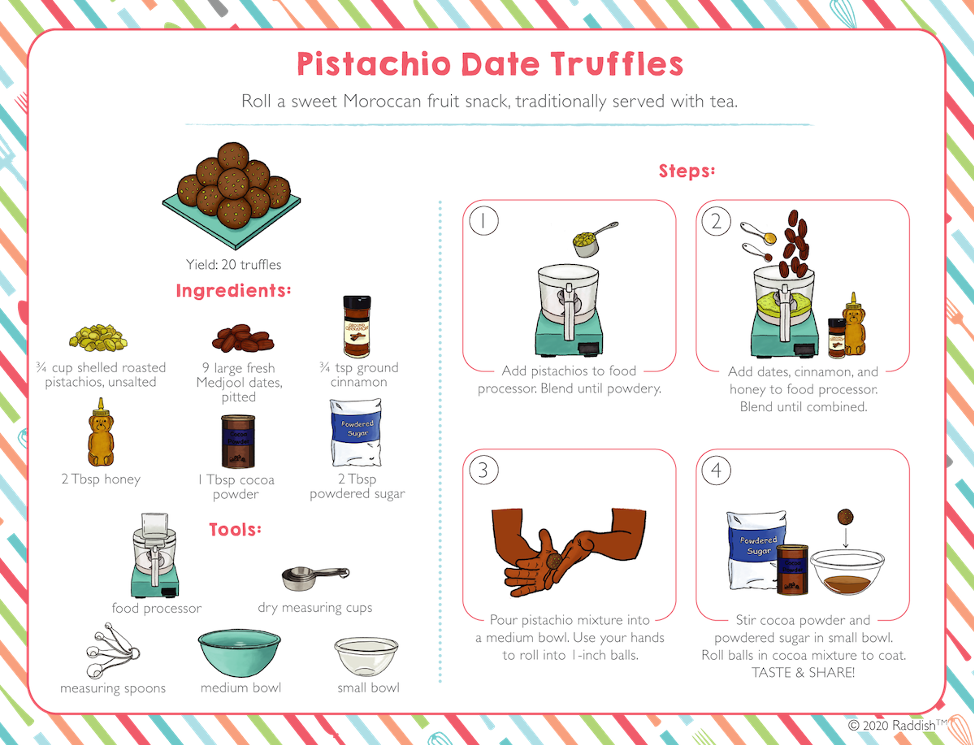 Pistachio Date Truffles