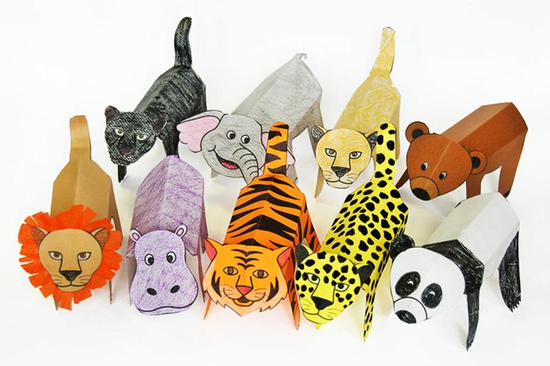 Folding Paper Animals