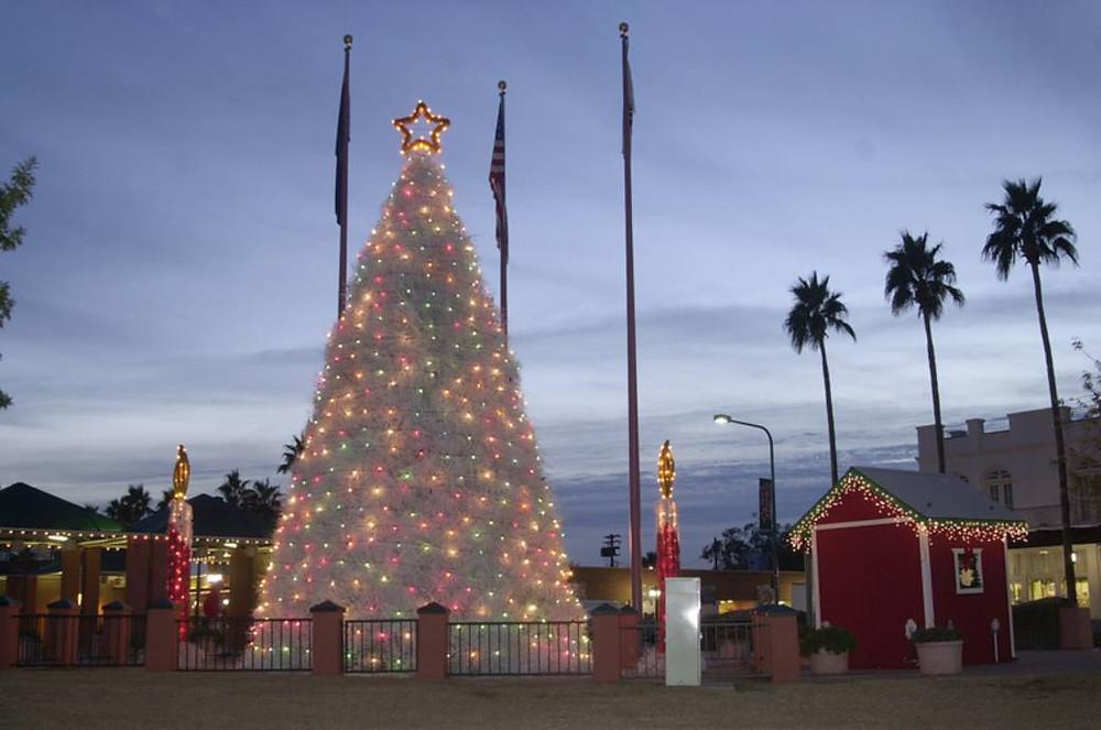 Tumbleweed Christmas Tree Lighting and Parade of Lights