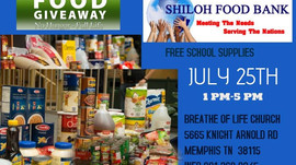 July 25th - Memphis Food Giveaway