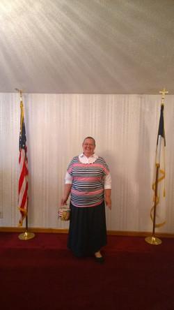 RWB Sunday: Sis. Kathy Halsey