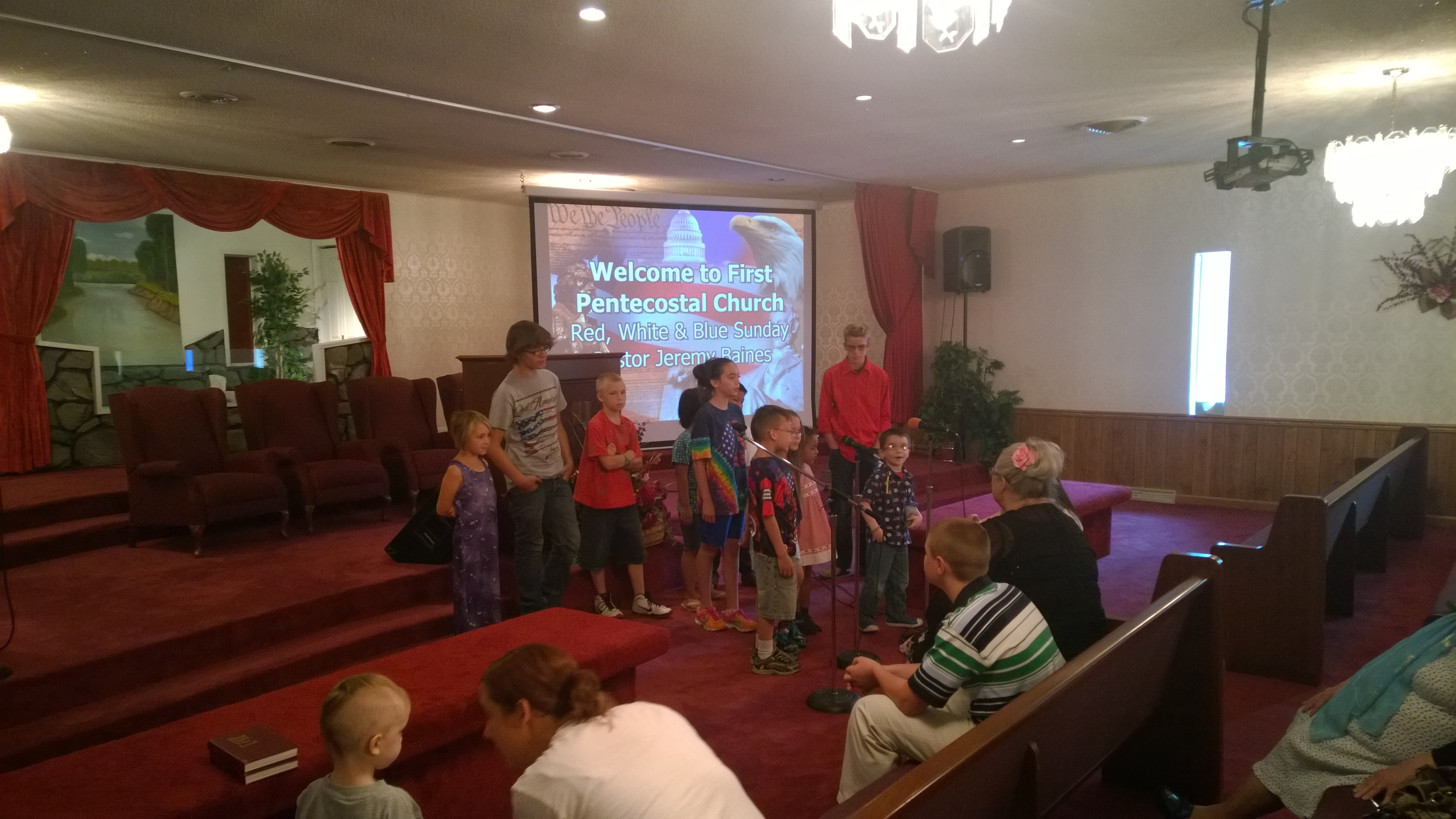 RWB Sunday: Children Singing
