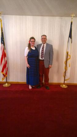 Pastor & Sis. Baines
