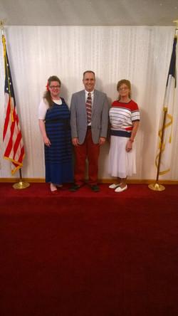 RWB Sunday: Pastors & Sis. White