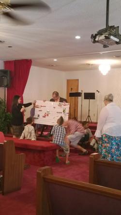 Sunday School Card for Pastor