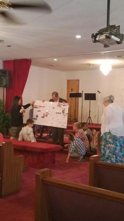 Sunday School Card to Pastor