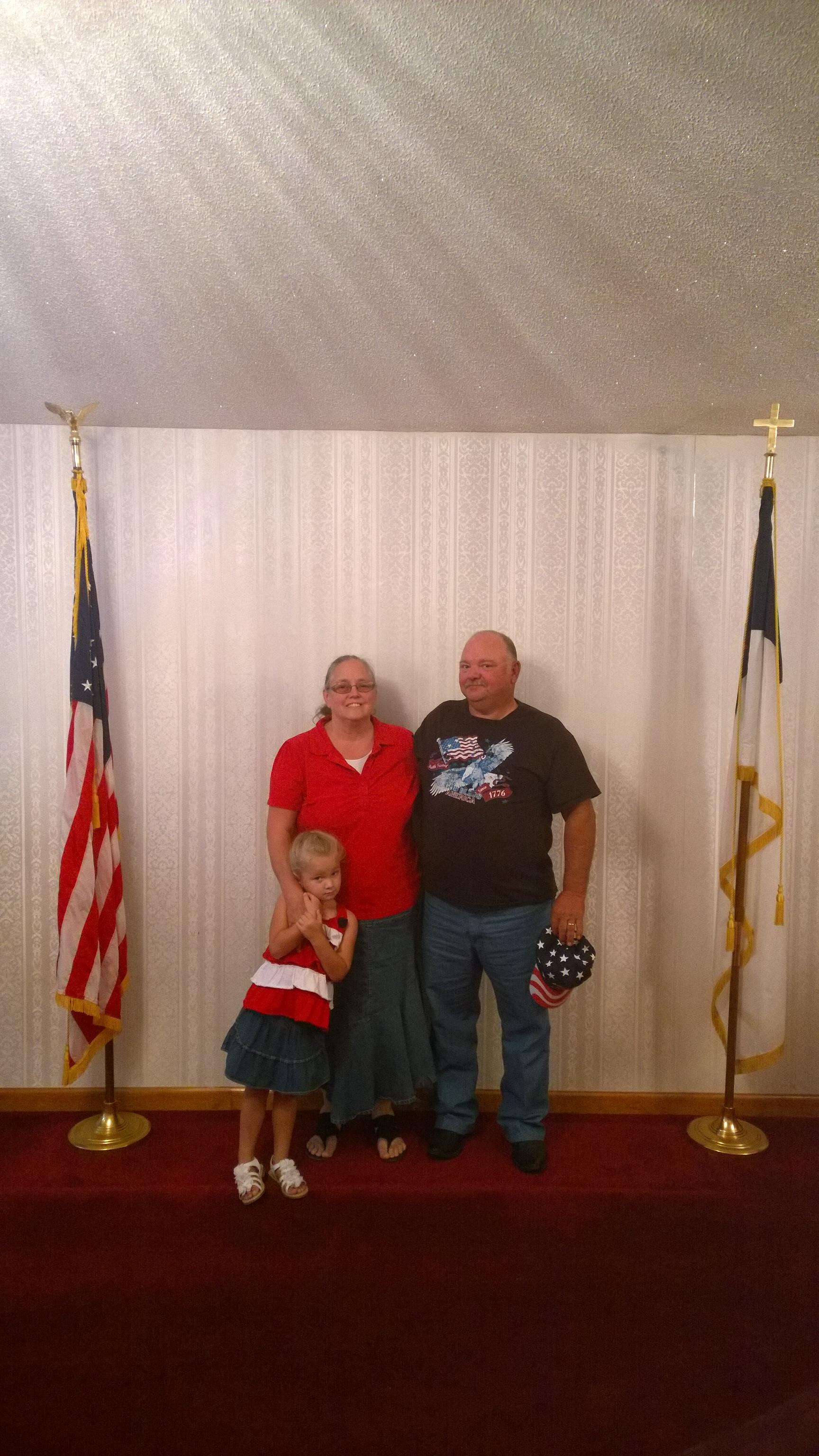 RWB Sunday: Chuck Hughes Family