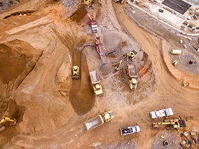 open cast pit mine