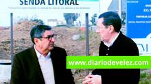 La senda litoral de Vélez-Málaga avanza desde Chilches