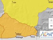Ola de calor: Activado en la Axarquía el aviso naranja para el sábado por calor extremo