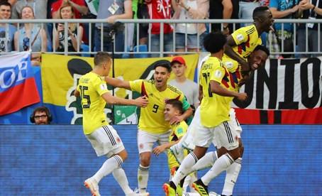 Yerry Mina clasifica a Colombia como primera y fulmina a Senegal (0-1)